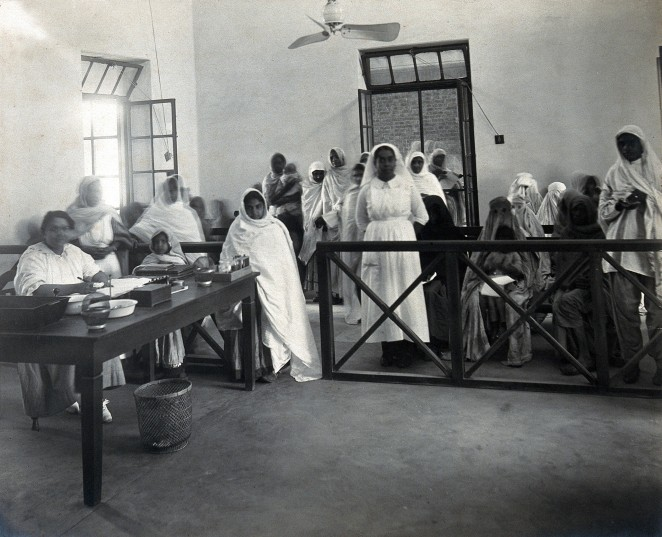 Lady Hardinge, 1921, out-patients' department